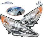 Headlight Assembly Headlamp Lamps For 2011-2014 Hyundai Sonata Left + Right