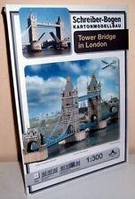 + KARTONMODELLBAU TOWER BRIDGE LONDON SCHREIBER-BOGEN 671   Bastelbogen