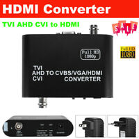 1080P AHD to HDMI Audio Video Converter Adapter Cable TVI CVI Signal Connector