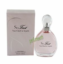 So First by Van Cleef & Arpels Edt Spray 3.4/3.3 oz For Women  New In Box