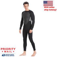 3mm Neoprene Wetsuit Warm Rashguard Diving Swimming Surf Scuba Wet Suits