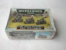 Clásico fuera de imprenta oscuro Ángeles Ravenwing Escuadrón De Bicicleta-Marines Espaciales Warhammer 40k