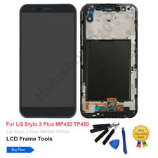 For LG Stylo Stylus 3 Plus TP450 MP450 LCD Display Touch Screen Digitizer /Frame