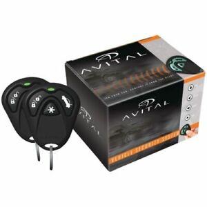 Avital 3100L 3-Channel Keyless Entry Failsafe Starter Car Alarm Security Kit