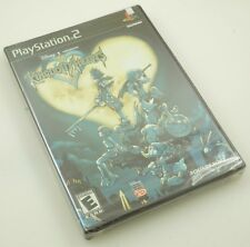 Sony Playstation 2 PS2 Kingdom Hearts BLACK LABEL FOIL COVER New Factory Sealed
