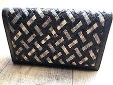 Vintage Real Snake Skin Clutch Bag