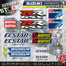 Adesivi / Stickers SUZUKI TEAM GSX R ECSTAR GSR 1000 600 750 BURGMAN BANDIT SV
