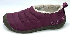 Keen Cush Womens Slip On Shoes Purple Comfort Flats Quilted Howser II Size 7