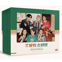 BTS BANGTAN BOYS 2021 SEASON'S GREETINGS DVD + Desk Calendar + Diary + Tracking