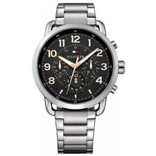 New Tommy Hilfiger Mens Stainless steel Multi Dial Chronograph Watch 1791422