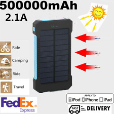 2019 New Waterproof Solar Mobile Power 500000mAh Large Capacity Portable Charger