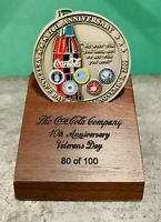 2009 Coca-Cola Veterans Day RARE Challenge Coin VIP Box Set! Numbered to 100!