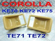 INNER DOOR BEZEL HANDLE FRAME BROWN TOYOTA COROLLA KE70 KE72 KE75 TE71 TE72