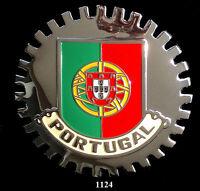 CAR GRILLE EMBLEM BADGES - PORTUGAL (FLAG)