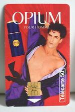 TELECARTE 50 OPIUM POUR HOMME 1995