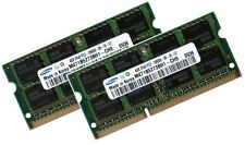 2x 4GB 8GB DDR3 RAM 1333Mhz ASUS ASmobile Pro33 Notebook Pro33S Samsung Speicher