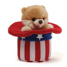 RETIRED GUND  DOG - RED WHITE AND BOO - PATRIOTIC  POMERANIAN - NWT - USA