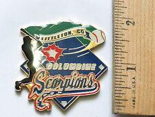 Columbine Scorpions Littleton Co Baseball Team Lapel Pin, (#119)