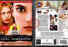 GIRL INTERRUPTED Winona Ryder Angelina Jolie NEW DVD R4 (Region 4 Australia)