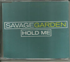 Darren Hayes SAVAGE GARDEN Hold Me ACOUSTIC & LIVE UK CD single SEALED & POSTER