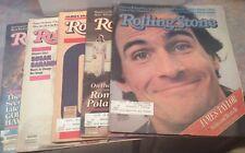 Rolling Stones Magazine Lot of 5 - 1981