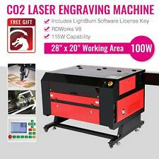 Omtech 100w Co2 Laser Engraving Cutting Engraver Cutter With Lightburn 28x20in