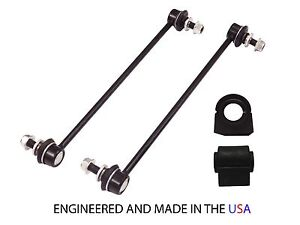 4PC Sway Bar Links Bushings 05-10 CHEVROLET COBALT SS 04-07 SATURN ION RED LINE