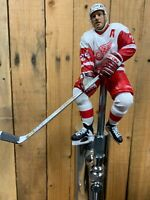 DETROIT RED WINGS Beer Keg Tap Handle  NHL HOCKEY White Jersey Chelios