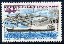 STAMP / TIMBRE FRANCE OBLITERE N° 1772 LE HAVRE ECLUSE