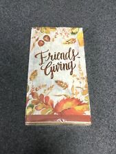 Creative Converting Guest Napkin 3 Ply Fall Thanksgiving Friends Giving 16 M56A