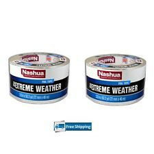 "2 Pack Nashua 330x HVAC Extreme Weather Foil Tape 2.83"" x 50.3 yd duct repair"