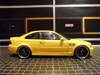 KYOSHO BMW M3 BBS E46 1:18