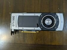 EVGA NVIDIA GEFORCE GTX 980 4GB 04G-P4-2980-BR WORKING PULL, LOW HOURS