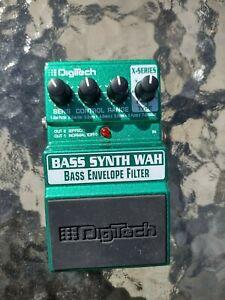 Digitech Bass Synth Wah bass envelope filter effects guitar FX