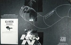 K&N 63-9036 63 Series Aircharger Hi-Performance intake, Liftime, Washable,toyota