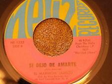 """EL MARIACHI JALISCO Si Dejo De Amarte / Cantares De Navidad 7"""" 45"""
