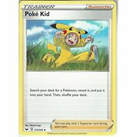 173/202 Poke Kid   Uncommon Trainer Card   Pokemon Sword & Shield (Base Set)