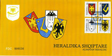 ALBANIA 2006 FDC set - ALBANIAN HERALDIC - Very Rare