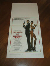 LOCANDINA,007 - Bersaglio mobile A View to a Kill,BOND Roger Moore,Walken,Jones