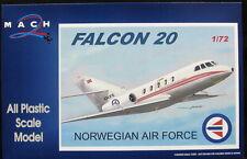 Mach 2 Models 1/72 DASSAULT FALCON 20 Norwegian Air Force