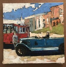 Original Impressionism Oil Painting Canvas  Serguei Novitchkov Certificate 18x18