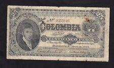 Colombia 25 Pesos 1904 P-313  ,G
