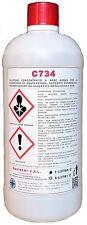 C734 - 1 Lt - DECARBONIZZANTE DISINCROSTANTE DECAPANTE X ALLUMINIO &LEGHE GIALLE