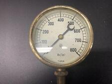 More details for vintage presure gauge 0 to 800 lb/in