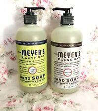 Mrs. Meyer's LARGE Liquid Hand Soap In LEMON VERBANA & LAVENDER 16oz. (2 Pack)