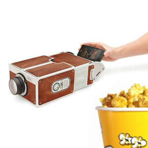 Smartphone Projector 2.0 Cinema In A Box Preassembled Fits Iphones Luckies 959HC