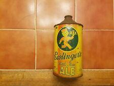 Esslinger's Little Man Ale, Irtp, quart cone top beer can