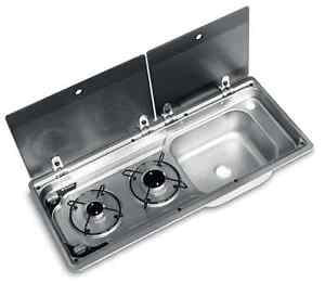 Smev Dometic 9722 Compact Campervan cooker unit inc tap & template T4 T5 RH