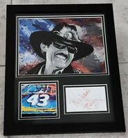 RICHARD PETTY AUTHENTIC Signed Autographed NASCAR 11X14 FRAMED PHOTO JSA PSA