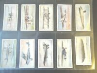 1930 Wills SPEED records boats race cars planes set 50 cards Tobacco Cigarette